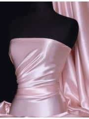 Crepe Back Satin Fabric Material- Baby Pink Q131 BPN