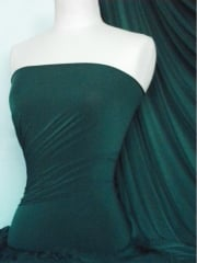 Silk Touch 4 Way Stretch Lycra Fabric- Forest Green Q53 FRTGRN