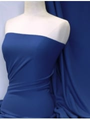 Bubble 4 Way Stretch Lycra Fabric - Royal Blue Q894 RBL
