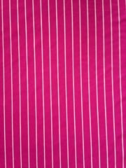 Micro Lycra Jersey 4 Way Stretch Fabric- Hot Pink Stripes SQ96 HTPN