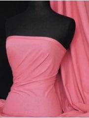 Single Jersey Knit 100% Light Cotton T-Shirt Fabric- Pink Q1249 PN