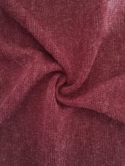 Sweater Knit Acrylic Soft Knitwear Fabric- Burgundy SQ113 BURG