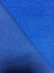 Sweatshirt Fleece Backed Cotton Super Soft Fabric- Royal Blue Q237 RBL