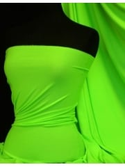 Enya Crepe 4 Way Stretch Jersey Fabric- Neon Lime Green Q1169 NLMGRN