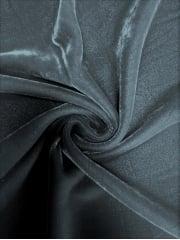 Micro Velvet Velour Fabric Luxuriously Soft Velvet- Elephant Grey MVEL22 EGR