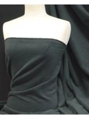 Polar Fleece Anti Pill Washable Soft Fabric- Midnight Grey PF MDGR