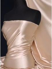 Super Soft Satin Stretch Fabric- Nude Q710 ND