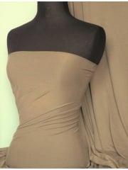 Clearance Viscose Stretch Lycra Fabric- Light Olive SQ130 LTOLV