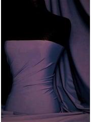 Clearance Matt Lycra 4 Way Stretch Lightweight Fabric- Violet SQ66 VLT