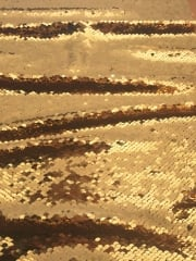 Showtime Fabric All Over Stitched Heavy Stretch Sequins - Gold SEQ67 GD