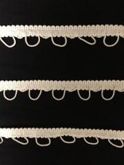 2 METRES Rope Braided Trim- Cream SY208 CRM