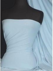 Marcy 4 Way Stretch Poly Lycra Fabric- Powder Blue Q1336 PWBL