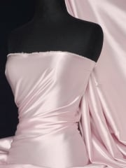 Super Soft Satin Fabric- Rose Pink Q710 RSPN