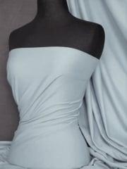 Clearance Single Jersey Knit 100% Light Cotton T-Shirt Lightweight Fabric- Pale Blue SQ162 PBL