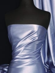 Crepe Back Satin Fabric Material- Denim Blue Q131 DNM