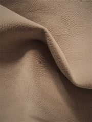Faux Luxury Supple Heavy Suede Embossed Interior Upholstery Fabric- Fawn SQ172 FWN