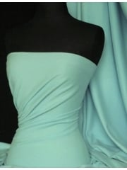 Soft Fine Rib 100% Cotton Knit Material - Peppermint Q61 PMNT