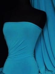 Soft Touch 4 Way Stretch Lycra Fabric- Dark Turquoise Q36 DTQS