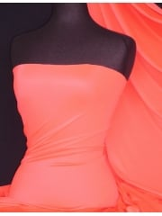 Matt Lycra 4 Way Stretch Fabric- Salmon Pink Q56 SPN