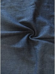 Denim Rocco Medium Weight Stretch Fabric (162 cm Width)- Navy SQ88 NY