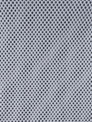 Fishnet Mini Circle Design 4 Way Stretch Material- White SQ197 WHT