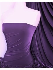 Silk Touch 4 Way Stretch Lycra Fabric- Purple Q53 PPL