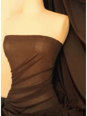 Corsetry Power Mesh/ Net Material - Brown Q107 BR