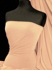 Clearance Tactel Lightweight 4 Way Stretch Peach Skin Fabric- Skin SQ74 SKN