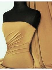 Micro Lycra 4 Way Stretch Fabric - Marl Camel Q259 MCML