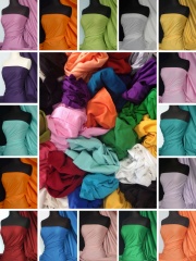 Offcuts/Remnants Joblot Assorted 100% Cotton Bundle- Plain Cottons
