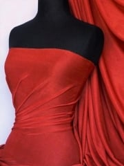 Slinky Stretch Jersey Fabric- Red Q323 RD