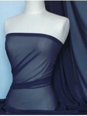 Chiffon Soft Touch Sheer Fabric Material- Army Navy Q354 AMNY