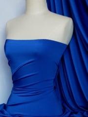 Shiny Lycra 4 Way Stretch Material- Electric Blue Q54 ELCBL
