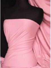 Single Jersey Knit 100% Light Cotton T-Shirt Fabric- Baby Pink Q1249 BPN