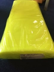 40 METRES Tutu Fancy Dress Net Material Job Lot Bolt- Flo Lemon JBL1 FLMN