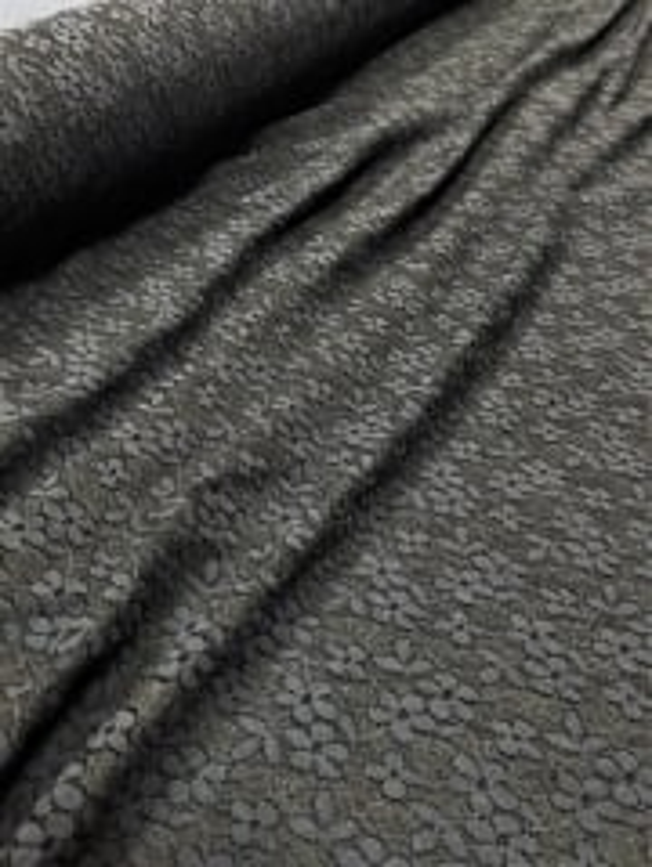 20 METRES Lace Small Flower Design Stretch Material Job Lot Bolt- Black JBL3 BK