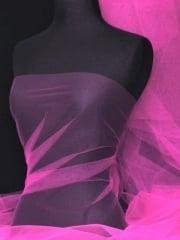 Tutu Fancy Dress Net Material- Magenta Q174 MGT