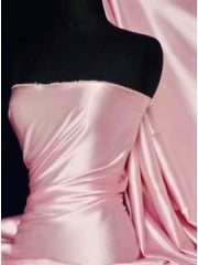 Fluid Super Soft Satin Stretch Fabric- Pink Q855 PN