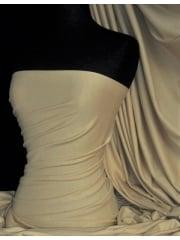 Soft Fine Rib 100% Cotton Knit Material - Light Olive Q61 LTOLV