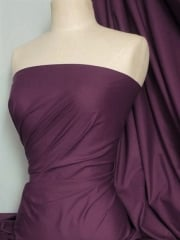 Poly Cotton Material- Dark Aubergine Q460 DAUB