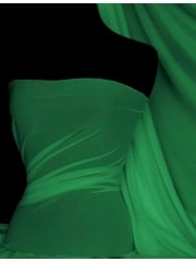 Paris Mesh Non-Lycra 4 Way Stretch Light Jersey Fabric- Jade Green Q450 JDGR