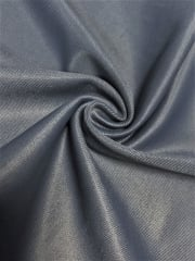 Clearance (106 cms) Satin Shiny Lycra Stretch Material- Dark Cloud SQ186 DCLD