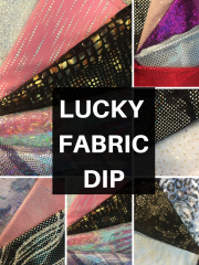 Lucky Dip Fabric Bundle- Dancewear Pack Arts/Crafts Projects
