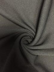 100% Polyester Rib (200 cms) Sheer Stretch Fabric- Black SQ225 BK