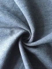 Sweatshirt Loop Back Jersey Material- Denim Blue Q883 DBL