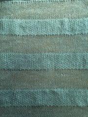 Clearance Knitwear Acrylic Soft Stretch Fabric- Mint Stripe CLKN MNT