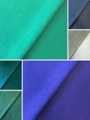 Clearance (158 cms) Micro Fleece Jersey Backed Soft Sports Fabric- SQ249