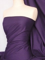 Poly Cotton Material- Midnight Purple Q460 MPPL