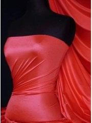 Shiny Lycra 4 Way Stretch Material- Scarlett Red Q54 SCRD