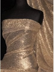 Showtime Fabric All Over Stitched 3mm Sequins - Sun Kissed SEQ53 SNK